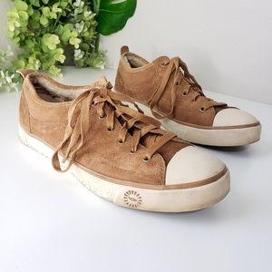 Ugg Evera 1888 suede sneaker